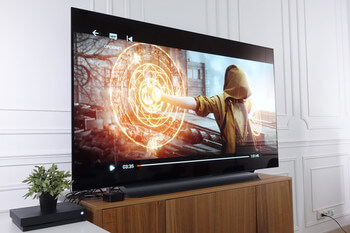 Чёрный телевизор