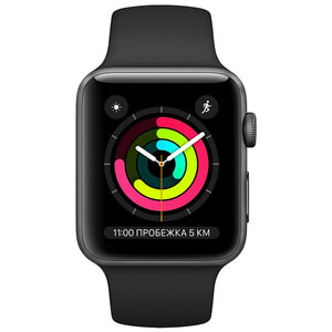 Apple Watch Series 3 38mm Aluminum