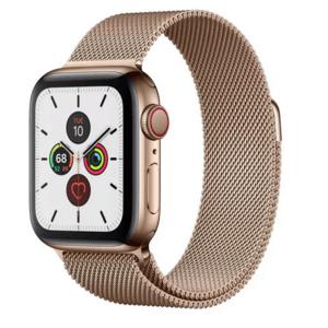 Золотые смарт-часы Apple