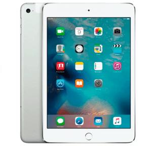 Белый планшет Apple iPad